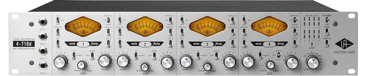 UAD 710d 4ch Blending Mic Preamp