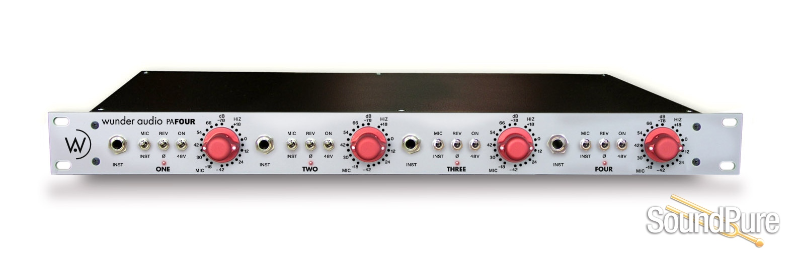Wunder Audio Pafour Plus 4ch Preamp