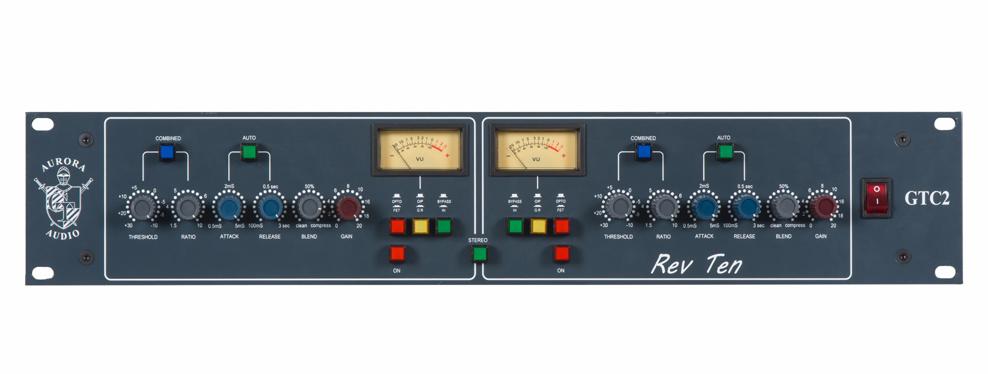 Aurora GTC 2 Rev 10 Stereo Compressor