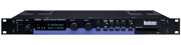 Lexicon PCM 80 Digital Reverb
