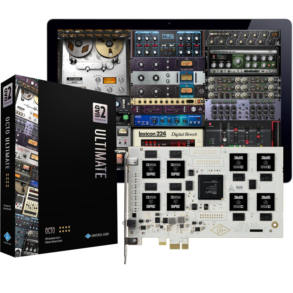 Universal Audio Dsp Cards Ultimate Bundle